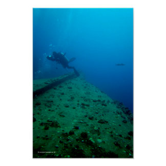 Wreck Diver Posters