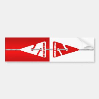 Wreck Diving (Line Markers) Bumper Sticker