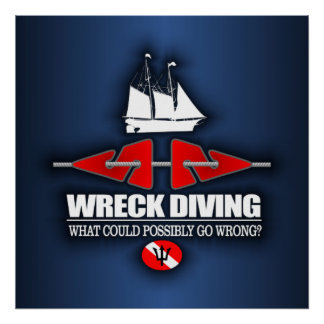 Wreck Diving (What Could Possibly Go Wrong?) Poster