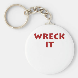 Wreck It Key Chain