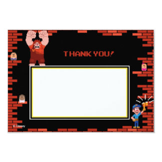 Wreck-It Ralph 2 Thank You Cards