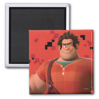 Wreck-It Ralph 3 2 Inch Square Magnet
