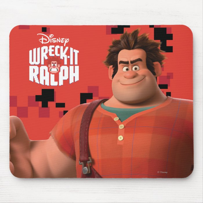 Wreck-It Ralph 3 Mouse Pad