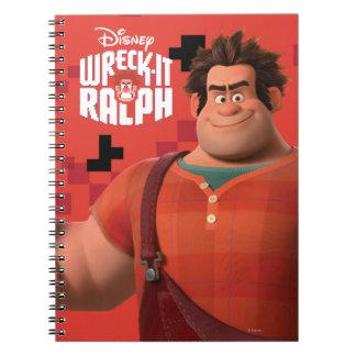 Wreck-It Ralph 3 Notebooks