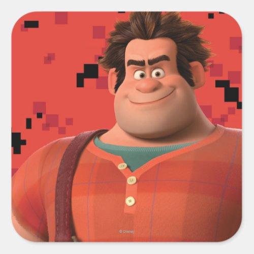 Wreck_It Ralph 3 Square Sticker