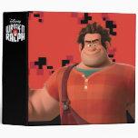 Wreck-It Ralph 3 Vinyl Binder