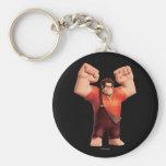 Wreck-It Ralph 4 Basic Round Button Keychain