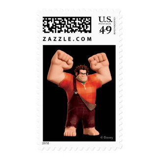 Wreck-It Ralph 4 Postage Stamps