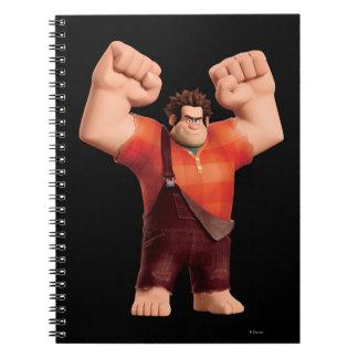 Wreck-It Ralph 4 Spiral Notebook