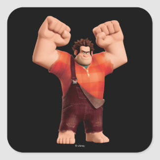 Wreck-It Ralph 4 Square Sticker