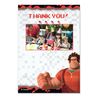 Wreck-It Ralph Birthday Thank You Cards