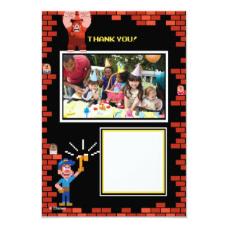 Wreck-It Ralph Birthday Thank You Cards 2