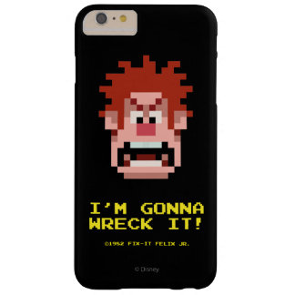 Wreck-It Ralph: I'm Gonna Wreck It! Barely There iPhone 6 Plus Case