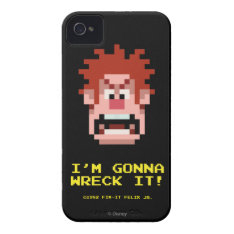 Wreck-it Ralph: I'm Gonna Wreck It! Iphone 4 Cover at Zazzle