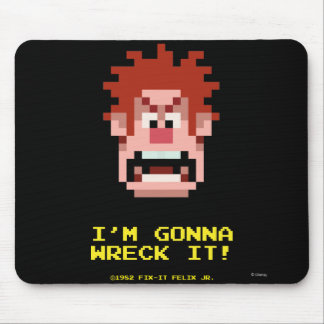 Wreck-It Ralph: I'm Gonna Wreck It! Mouse Pad