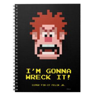 Wreck-It Ralph: I'm Gonna Wreck It! Spiral Notebooks
