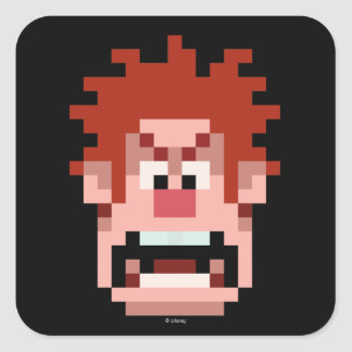 Wreck-It Ralph: I'm Gonna Wreck It! Square Sticker