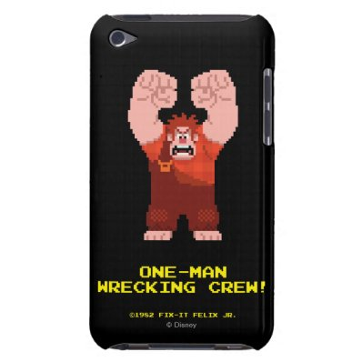Wreck-It Ralph: One-Man Wrecking Crew! iPod Touch Cover