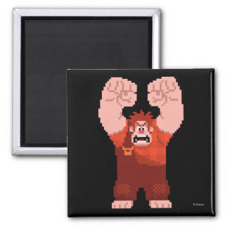 Wreck-It Ralph: One-Man Wrecking Crew! 2 Inch Square Magnet