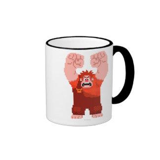 Wreck-It Ralph: One-Man Wrecking Crew! Ringer Coffee Mug