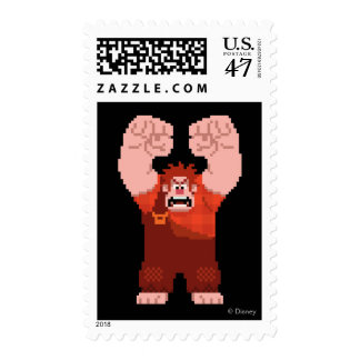 Wreck-It Ralph: One-Man Wrecking Crew! Postage