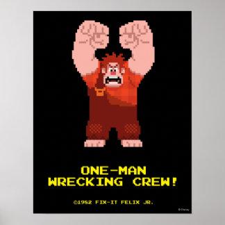 Wreck-It Ralph: One-Man Wrecking Crew! Poster