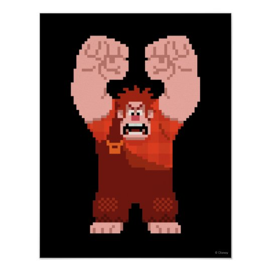 Wreck-It Ralph: One-Man Wrecking Crew! Products Poster