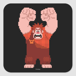 Wreck-It Ralph: One-Man Wrecking Crew! Products Square Sticker