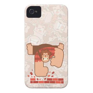 Wreck it Ralph Pounding Bricks Case-Mate iPhone 4 Case