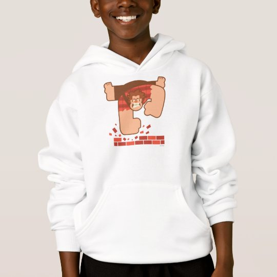 Wreck it Ralph Pounding Bricks Hoodie