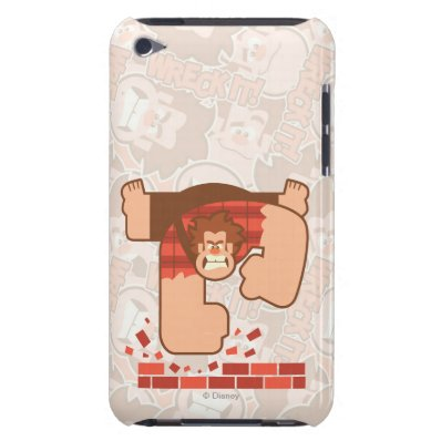 Wreck it Ralph Pounding Bricks iPod Case-Mate Case