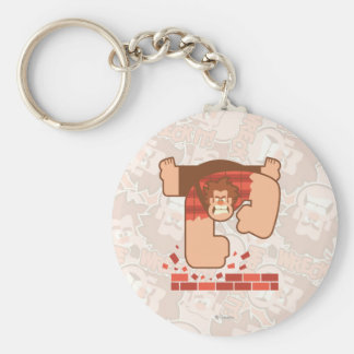 Wreck it Ralph Pounding Bricks Keychain