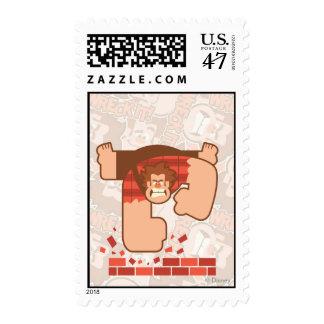 Wreck it Ralph Pounding Bricks Stamp