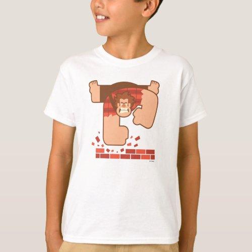 Wreck it Ralph Pounding Bricks T_Shirt