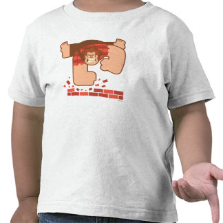Wreck it Ralph Pounding Bricks Tshirt