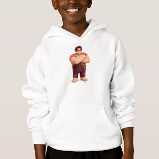 Wreck-It Ralph Standing with Arms Crossed Hoodie