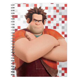 Wreck-It Ralph Standing with Arms Crossed Spiral Notebook