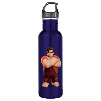 Wreck-It Ralph Standing with Arms Crossed Stainless Steel Water Bottle