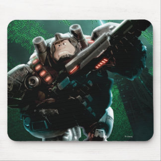 Wreck-It Ralph with Gun Mouse Pad