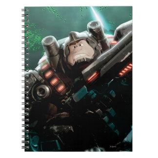 Wreck-It Ralph with Gun Spiral Notebook