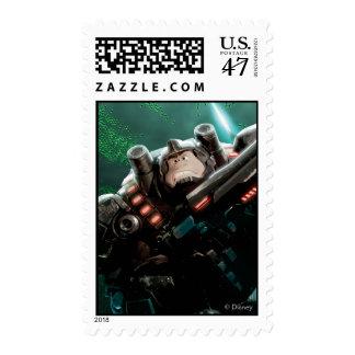 Wreck-It Ralph with Gun Postage Stamp