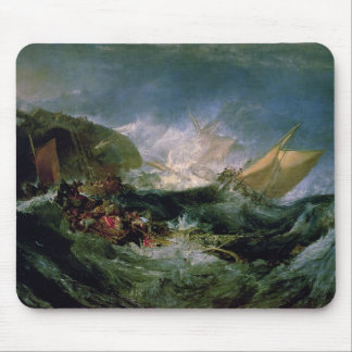 Wreck of a Transport Ship Mouse Pad