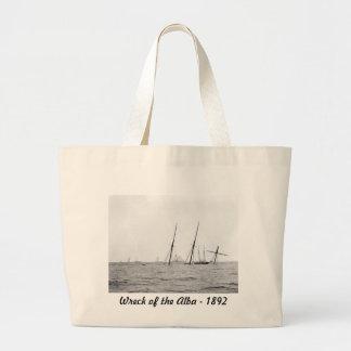 Wreck of the Alba 1892 Tote Bag