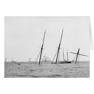 Wreck of the Alba, 1892 Card