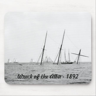Wreck of the Alba, 1892 Mouse Pad