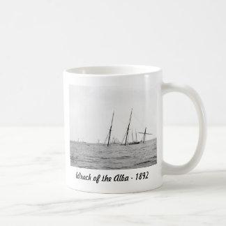 Wreck of the Alba, 1892 Classic White Coffee Mug