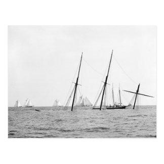 Wreck of the Alba, 1892 Postcard