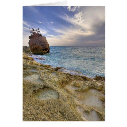 "Wreck of the ""Gallant Lady"", North Bimini Island Cards"