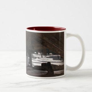 Wreck Of The Maheno Two-Tone Coffee Mug