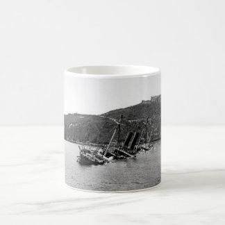 Wreck of the Spanish Reina Mercedes_War Image Coffee Mug